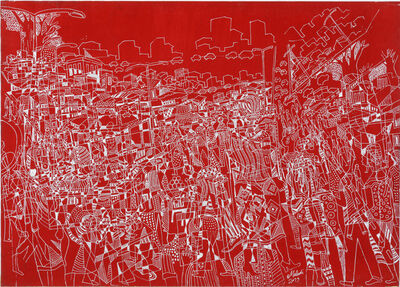 Houston Maludi, 'La vie dans la cité I', 2019