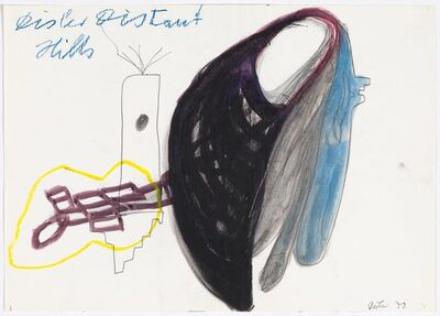 Martin Disler, 'Disler Distant Hills', 1978