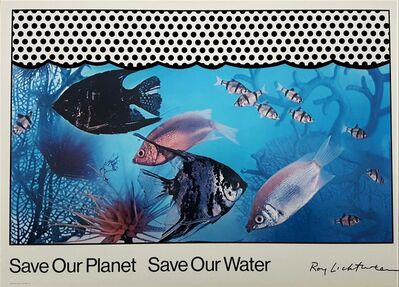 Roy Lichtenstein, 'Save Our Planet Save Our Water', 1971