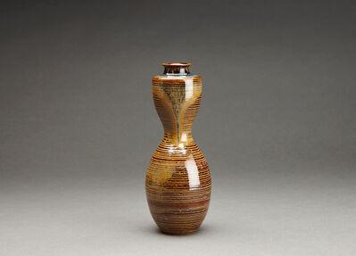 Miraku Kamei XV, 'Flower vase (hanaire), gourd form', 2015-2016
