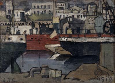 Joaquín Torres-García, 'Puerto de Barcelona', 1918