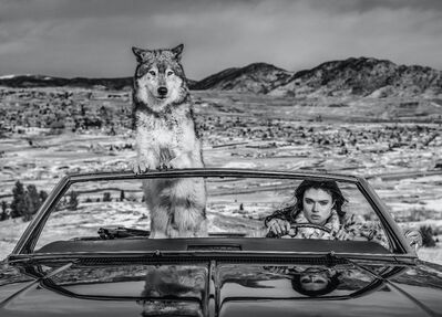David Yarrow, 'The Richest Hill in the World', 2020