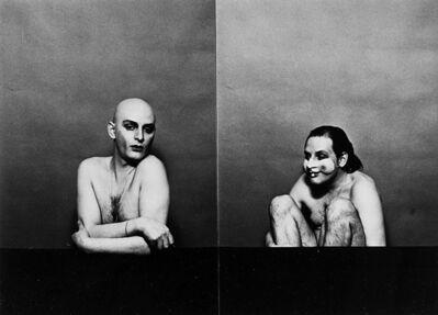 Urs Lüthi, 'Senza titolo (Autoritratto)', 1977