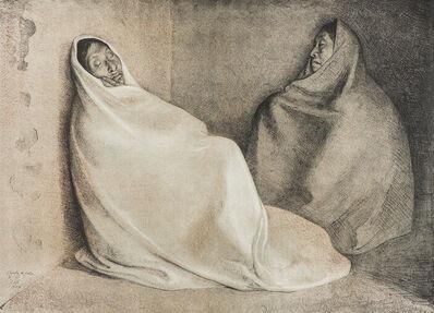 Francisco Zúñiga, 'Dos Mujeres Sentadas', 1978
