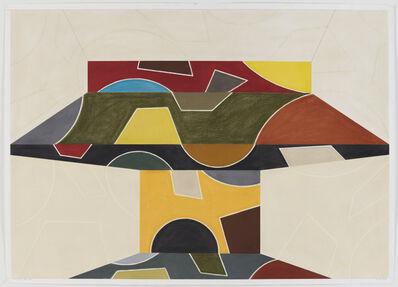 David Tremlett, 'Drawing for 2 Rooms #2', 2003