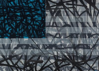 Saber, 'Blue Flag', 2013