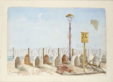 Rudolph Sauter, ''Not to be Removed'', ca. 1940
