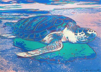 Andy Warhol, 'Sea Turtle', 1985