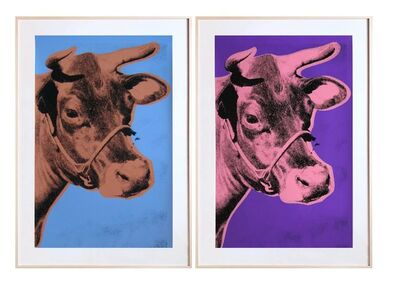 Andy Warhol, 'COWS  (F & S 11A, 12A)', 1971-1976
