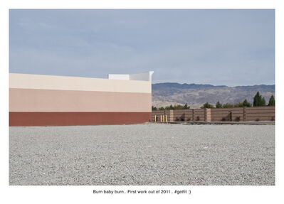 Nate Larson + Marni Shindelman, 'Burn Baby Burn', 2011