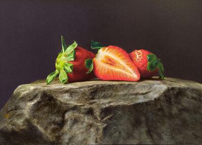 Rafael de la Rica, 'Strawberries', 2019
