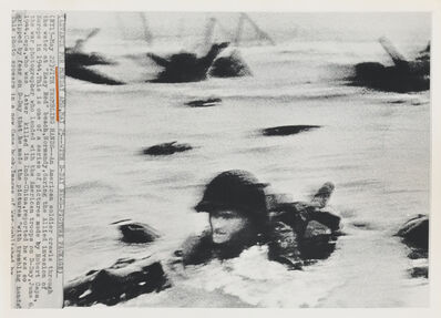 Robert Capa, 'D-Day Invasion, Omaha Beach, Normandy Coast.', 1964