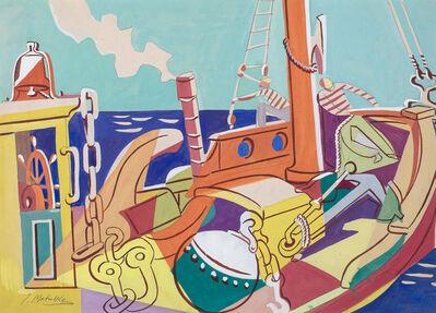 Jan Matulka, 'Untitled (Going to Sea)', ca. 1930