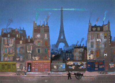 Michel Delacroix, 'Tour Eiffel le Soir', 1985