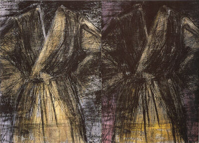 Jim Dine, 'Two Dark Robes', 1991