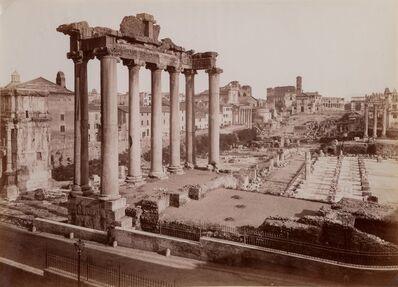James Anderson, 'Roman Forum', circa 1855-printed later