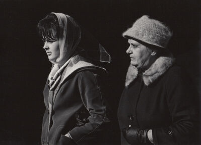 Ed Sievers, 'Untitled (street scene with two women)', c. 1960's