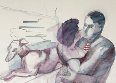 Carole Robb, 'Rooftop Terrace Hotel Minerva', 2014