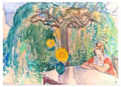 Charlotte Gardelle, 'The Garden', 1950s