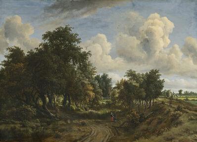 Meindert Hobbema, 'A Wooded Landscape', 1663