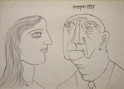 Francis Newton Souza, 'Untitled (Portrait 2)', 1958