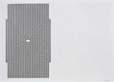 Frank Stella, 'Six Mile Bottom', 1970