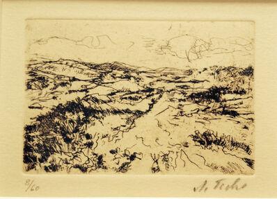 Anna Ticho, 'Jerusalem Hills #5', ca. 1950
