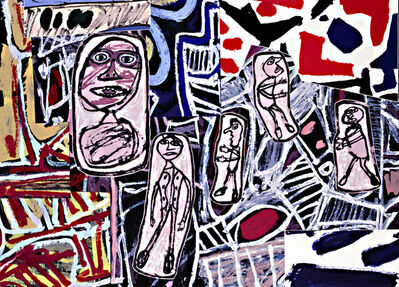 Jean Dubuffet, 'Faits Memorables III', 1978