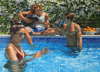 Michele Del Campo, 'The Pool', 2019