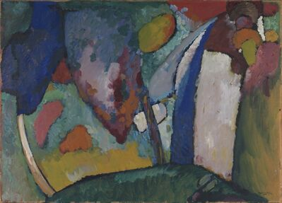 Wassily Kandinsky, 'The Waterfall', 1909