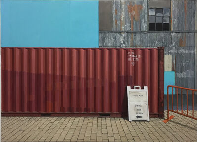 Richard Combes, 'Container at Hoboken Path Station', 2018