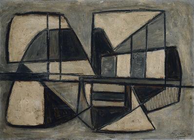 Oswaldo Vigas, 'Objeto Americano Negro', 1955-1956