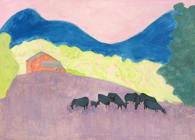 Sally Michel, 'Bucolic Landscape', 1973