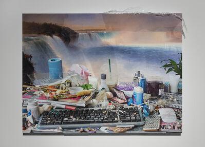 Jon Rafman, 'You are standing in an open field (waterfall)'