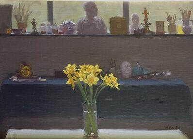 Robbie Wraith, 'Daffodils, North Window', 2019