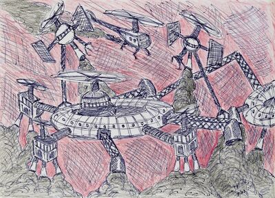 Damian Valdes Dilla, 'Fantasy Vehicle No. 11'