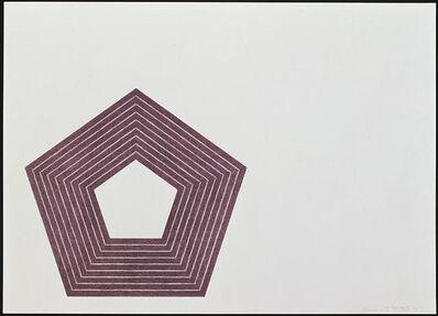 Frank Stella, 'Charlotte Tokayer', 1972