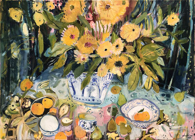 Elizabeth Endres, 'Potted Yellow Flowers', 2020