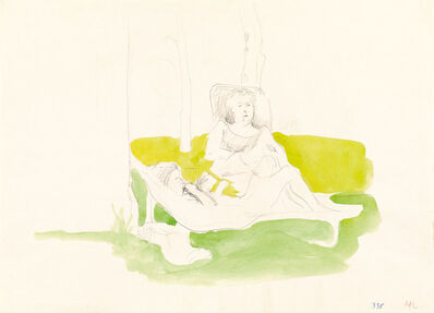 Maria Lassnig, 'untitled', 1974