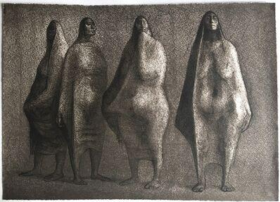 Francisco Zúñiga, 'Quattro Mujeres de pie', 1979