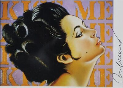 Mel Ramos, 'Kiss me', 1968