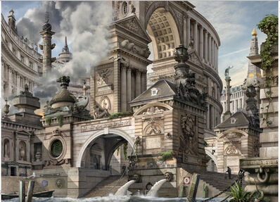 Emily Allchurch, 'Capital Folly (after Piranesi)', 2017