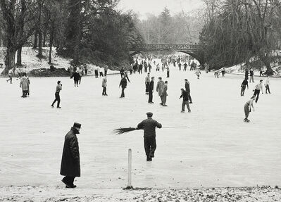 Willy Ronis, 'Lac du Bois de Boulogne, Paris', 1954