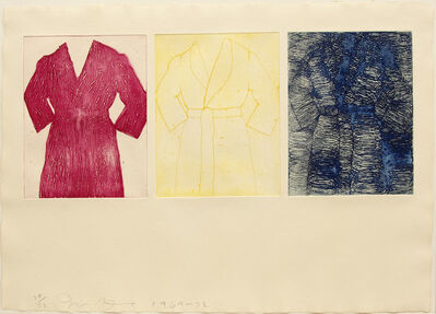 Jim Dine, 'Self Portrait (Primary Colors)', 1969-72