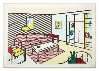 Roy Lichtenstein, 'Modern Room   ', 1990