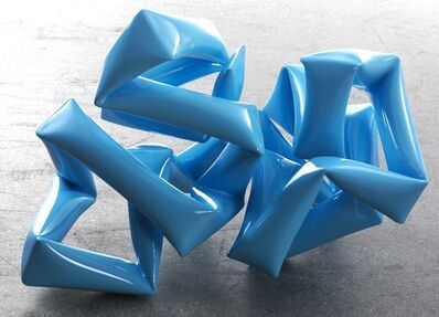 Willi Siber, 'Floor Sculpture (light blue)', 2013
