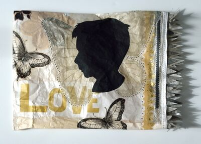 Tammy Ratcliff, 'the child grows (pillowcase #2)', 2014