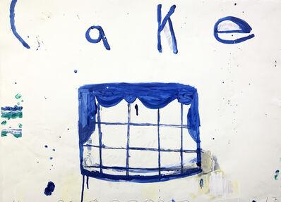 Gary Komarin, 'Cake (White & Blue)', 2017