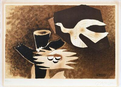 Georges Braque, ' L'oiseau et son nid', ca. 1956