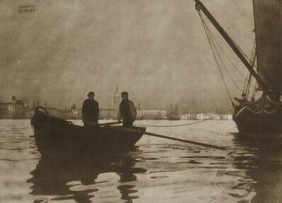Heinrich Kühn, 'In Bacino di San Marco, Venezia', circa 1898